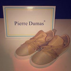 Pierre Dumas laced athletic shoe